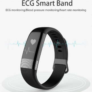 E18 Smart Band Heart Rate Blood Pressure Sport Waterproof Reminder Smart Bracelet for Android / iOS - BLACK 244