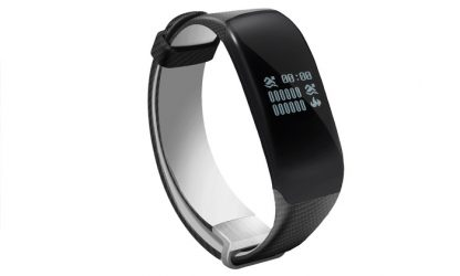 Apachie H5 Smart Bluetooth Sports Activity Tracker with Heart Rate Monitor
