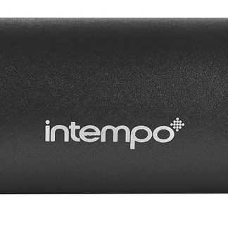 Intempo EE1274BLKSTK Rechargeable Wireless Bluetooth Tube Speaker,