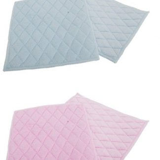 2 pack of guilted microfibre pads