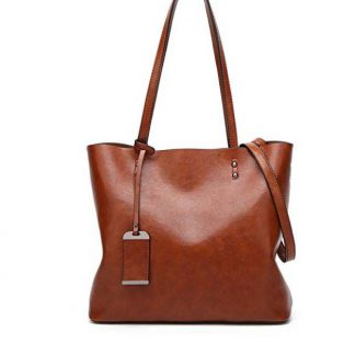 Women's Vintage Leather Bag Colour: Coffee