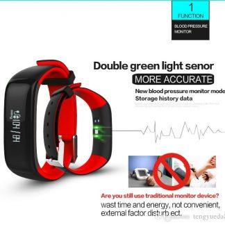 Smart Wristband P1 Bluetooth Smartband Blood Pressure Monitor