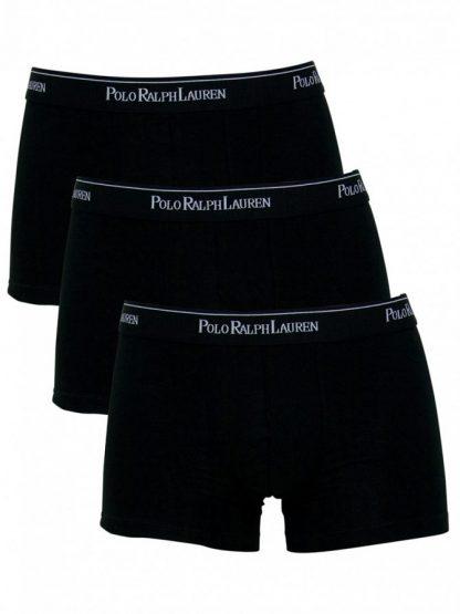 Ralph Lauren Black 3 Pack Trunks L size
