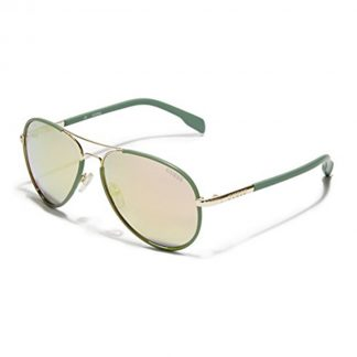 Guess GF 0261 32G Ladies Aviator Mirrored Gold Sunglasses