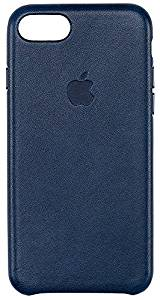Genuine Leather Apple Case for iPhone 7 Midnight Blue