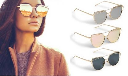 Sasha Morel Cat Eye Sunglasses