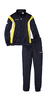 Lotto Stars Tracksuit for boys yellow/ navy blue L