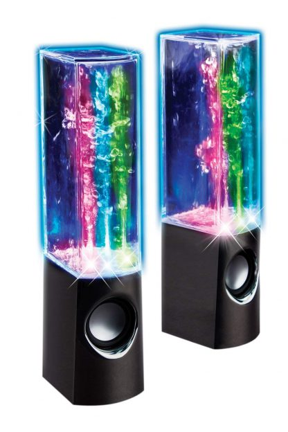 Dancing Water Speakers, Black