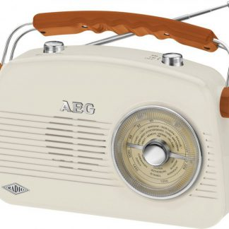 AEG Portable Radio Retro NR 4155 Cream