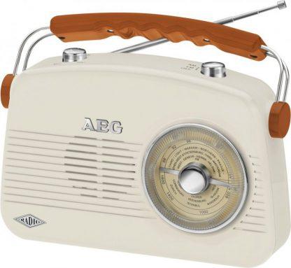 AEG Portable Radio Retro NR 4155 Cream