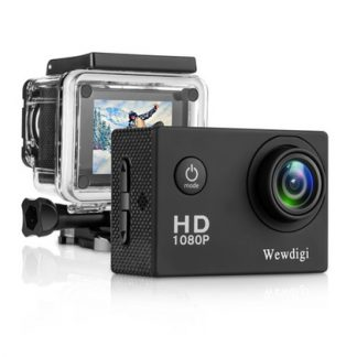 Waterproof Sports Cam 140 Degree Wide Angle Lens