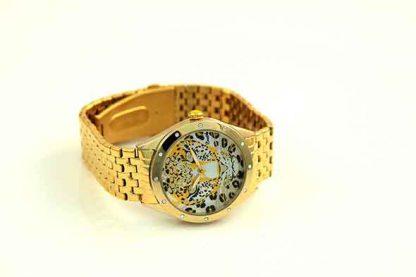 Bertha Women's BR4703 Alexandra Stainless Steel Gold Watch