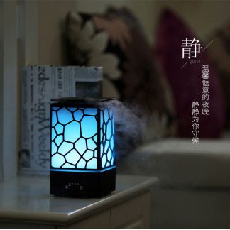 Water Cube Ultrasonic Aroma Diffuser for Spa Home
