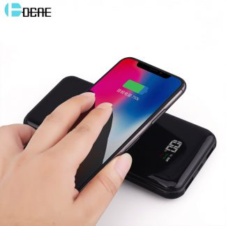 2-in-1 Wireless QI Charger & Power Bank (For Android Or iPhone)
