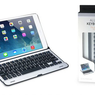 Aluminum Keyboard Case for iPad Air - Qwerty