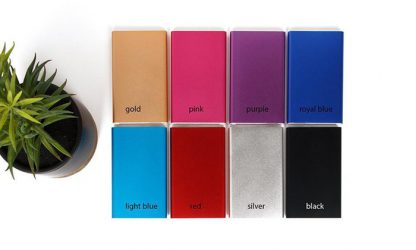 Various universal USB Portable External Battery Power Bank Charger from 10000mah