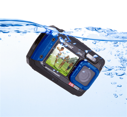 Polaroid IE090 18MP Waterproof Camera - Black
