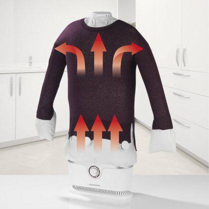 EASYmaxx Upright Garment Shirt Steamer