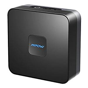 Mpow Bluetooth Receiver for Home Music Streaming System, Wireless Audio Adapter,Bluetooth 4.1 Music Adapter