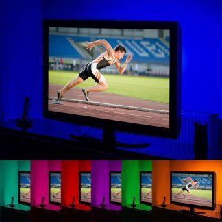 GloBrite Colour Changing 50cm 5v LED Strip USB TV PC Computer Light Lighting KIT