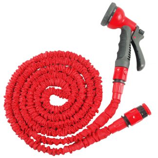 Grafner Flexible Garden Hose Water hose flexible hose with nozzle