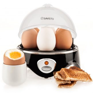 Savisto 360W Electric Stainless Steel Egg Cooker