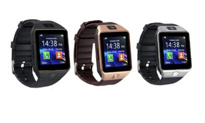 Smartwatch With Bluetooth and Camera