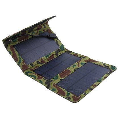 Military look folding solar charger mobile power solar charger