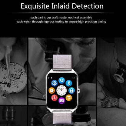 Z80 Bluetooth Smart Watch Sim Card Phone Pedometer For iphone Android IOS