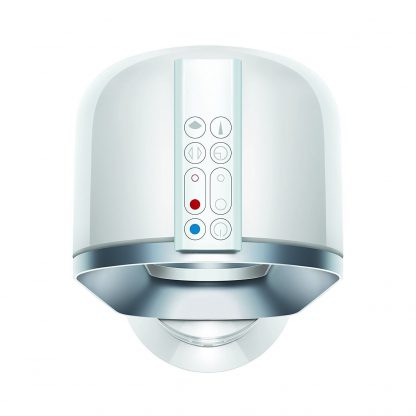 Dyson AM09 Hot+Cool Jet Focus Fan Heater White/Silver