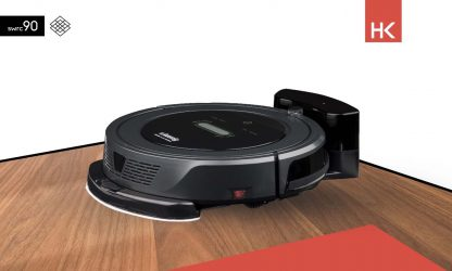 H.KOENIG SWRC90 WATERMOB + robot vacuum cleaner with wet wipe function