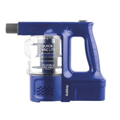 Beldray BEL0581V2 Cordless Quick Vac Lite, 22.2 V, Blue