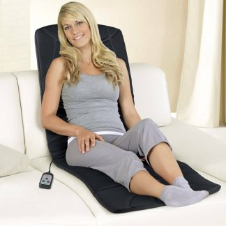 Massage Mat Vibration By Vitalmaxx Heat Function 3-Zone Remote Control