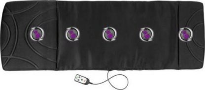 Massage Mat Vibration By Vitalmaxx Heat Function 3-Zone Remote Control